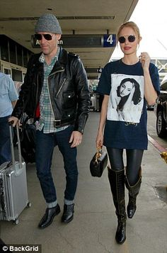 Supreme Brand, Airport Chic, Kate Bosworth, Kinky, Style Inspiration, Actresses, Boots, Shirts, Mail Online