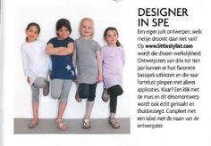 www.littlestylist.com: de webshop voor de allerjongste modeontwerpster in Goed Gevoel.  Meisjeskleding: customize hier je eigen jurk, tuniek of schooltas.