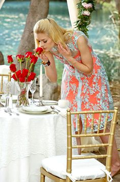 Hart of Dixie's Fashion Credits Season 2, Episode 9 Lemon Breeland (Jaime King) smells the roses in a Nanette Lepore dress