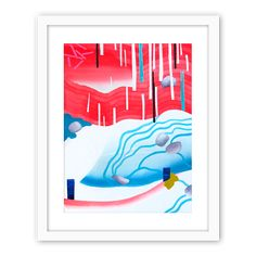 Giclee print by Gosia Poraj. Beautiful reproduction of painting.