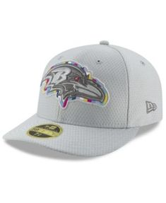 e6a283827 New Era Baltimore Ravens Crucial Catch Low Profile 59FIFTY Fitted Cap - Gray  7 1