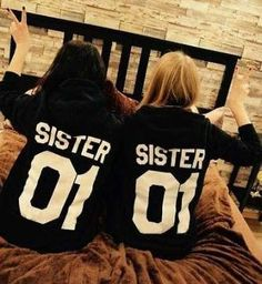 Diy Gifts For Bestfriend Bff Girls Sisters 27 Ideas Hoodie Sweatshirts, Best Friend Sweatshirts, Best Friend T Shirts, Friends Sweatshirt, Best Friend Outfits, Best Friend Stuff, Bff Shirts, Shirts For Girls, Ropa Color Neon