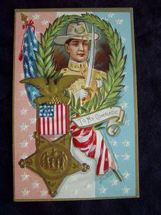 Vintage Memorial Day Postcard Veteran Flag 1900's Antique Unused Patriotic | eBay