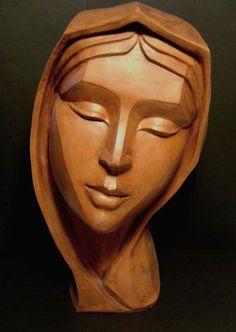 Maria.                        Artist                      Antonio Cassio Zangarini  Sculptor , Scultore,  Escultor