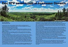ATV adventures in Northern Ontario. Wild Northerner Magazine. www.wildnortherner.com