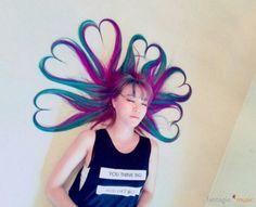 Hair Art of Hello Venus lime.
