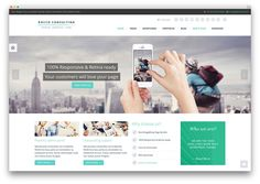 rocco consulting business theme
