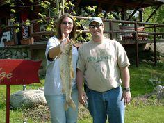 Nice lake trout Julie!