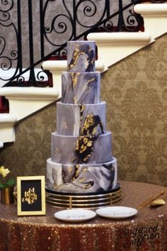 """"""" Contemporary Wedding Cakes Our collection of modern wedding cake designs are sought after by Black Wedding Cakes, Amazing Wedding Cakes, Wedding Cake Designs, Wedding Cake Toppers, 60th Birthday Cake For Mom, Dark Grey Weddings, Contemporary Wedding Cakes, Luxury Cake, London Cake"""