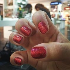 Christmas nails   #harveynicsleeds #nailsinc