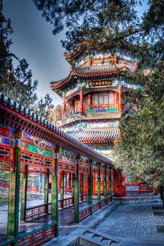 Summer Palace, Beijing. There's something special about this place. The Forbidden City is inspiring and awesome. The Summer Palace is simply beautiful.