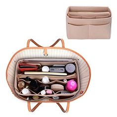 Product Material: NEW MATERIAL & ZIPPER DESIGN: Felt Purse Organizer with High quality and New Materials are made of Sturdy ,Soft and pliable, Lightweight Felt fabric.The Zipper of the organizer are made of Metal, Durable, Fashion and smoother Best Handbags, Luxury Handbags, Tote Handbags, Purses And Handbags, Trendy Handbags, Purse Storage, Handbag Organization, Makeup Organization, Handbag Organizer
