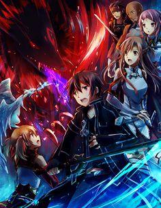 anime Sword Art Online artbooks: At the heat of Battle!