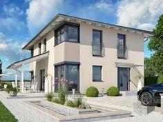 Haas S 154 A von Haas-Fertigbau Wohnfläche gesamt156,23 m² Zimmeranzahl6,5   | Stadtvilla | Walmdach