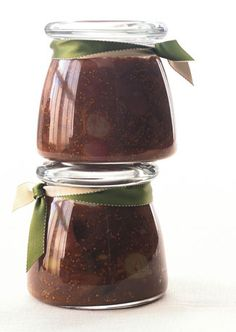 each gift is a sifferent type of homemade food.  Bon appetite has a whole list of gift-able recipes    here: Balsamic Fig Chutney with Roasted Grapes