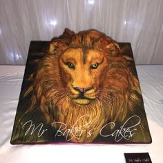 Through the Wardrobe - Aslan by Mr Baker's Cakes