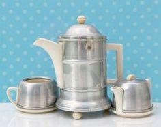 retro tea coffee set