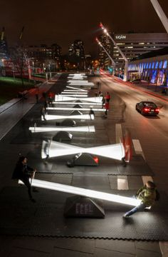 Light-Up Seesaws Arrive at Navy Pier This Spring