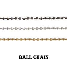 Beautiful Ball Chain Necklace~~Beaded Link Chain~~Making With Necklace & Beads Chain~~Brass Ball And Bead Chain~~Gift Chain Jewelry. (1486) Chain Jewelry, Brass Chain, Beaded Necklace, Beads, Link, Bracelets, Silver, Gifts, Etsy