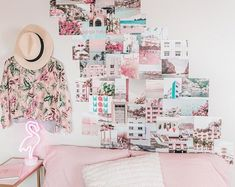 dorm room ideas for girls room teen bedroom designs pastel home decor photo collage wall kit
