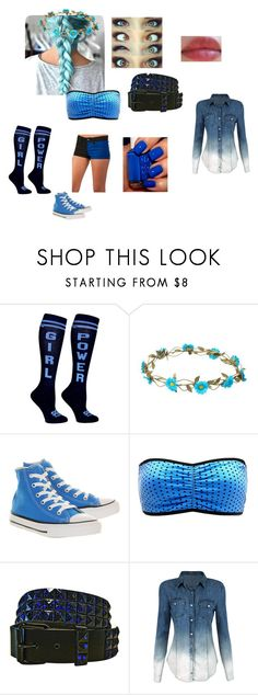 """""""WWE one shot #2"""" by celinel-cl on Polyvore featuring Mode, claire's, Converse und Charlotte Russe"""