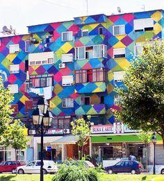 Around the World in 80 Days | www.TwoPinkHouses.com - Tirana Albania