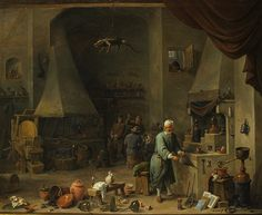 Interior of a Laboratory with an Alchemist by Chemical Heritage Foundation, via Flickr