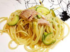 Pasta tonno zucchine