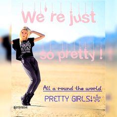"""We're just so pretty"" #britney #iggy @jordynjones1"