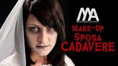 Questa idea per Halloween è perfetta in caso di un makeup all'ultimo momento! Con dei semplici passaggi e l'acconciatura abbinata sarete agghiaccianti!! GUAR...