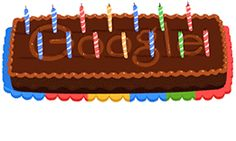 Wish Google a very happy birthday as, the search engine giant celebrates its 14th birthday today (27th September) with an animated chocolate cake as its doodle.
