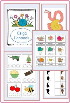 csiga lapbook