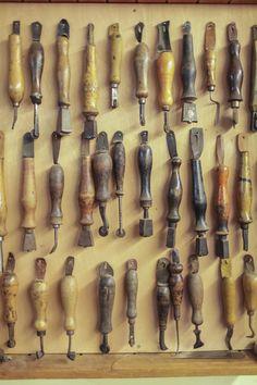 #Schuhmacherwerkzeuge #Werkstatt Vickermann und Stoya Maßschuhe - Schuhmacher, Schuhreparaturen, Schuhmanufaktur