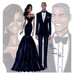 ntbx: yungblackgoddess: haydenwilliamsillustrations: First Lady Michelle Obama & President Barack Obama at the China State Dinner by Hayden Williams these sketches look fine as hell Damn Obama Hayden Williams, Fashion Art, Trendy Fashion, Fashion Models, Girl Fashion, Michelle Obama, Illustration Mode, Wow Art, Black Women Art