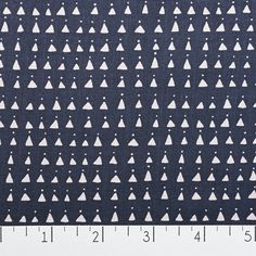 Triangles Navy | Fancy Tiger Crafts