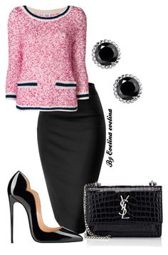 """""""EVE"""" by evelina-er on Polyvore featuring P.A.R.O.S.H., Yves Saint Laurent and Thomas Sabo"""