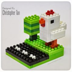 Chicken & Eggs | Chris's Nanoblock Blog