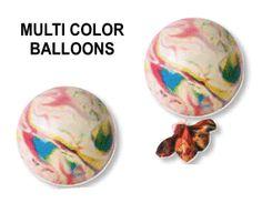 Multi colour regenboog ballonnen - Promoprints Feestartikelen