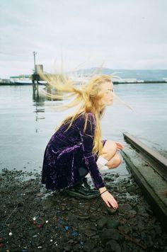 Grunge girls wear velvet and Doc Martens x