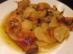 Poulet aux pommes de terre à la moutarde avec cookeo