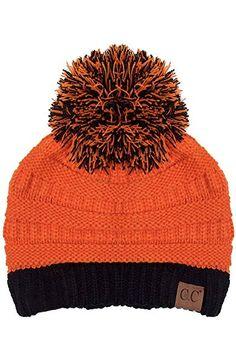 f2a1f3a0bc2 ScarvesMe CC Exclusive University College School Color Pom Pom Beanie  Review Beanie Hats