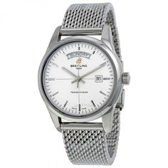 Breitling Transocean Day Date Automatic Men's Watch A4531012-G751SS - Transocean - Breitling - Watches  - Jomashop