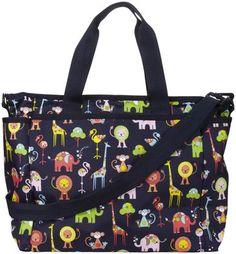 LeSportsac Ryan Baby Diaper Bag - Zoo Cute #topgifts