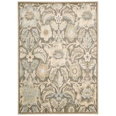 Featuring patterns and prints inspired from nature, including intertwining leaves, vines, botanicals, blossoms and blooms, the Springfield area rug brings the great outdoors poetically inside in the most refined and resplendent of ways.