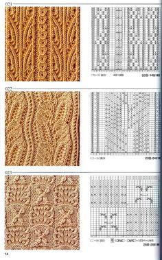 Япон�ка� книга узоров (�пицы) 021