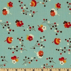 44'' Wide Flea Market Fancy Legacy Collection Posie Turquoise Fabric By The Yard by Free Spirit, http://www.amazon.com/dp/B007RGU000/ref=cm_sw_r_pi_dp_A-.iqb1H8SXGR