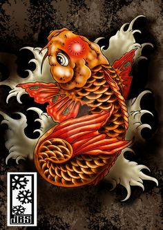 koi dragon..