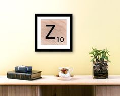 Large Scrabble Letter Art. Professionally printed on beautiful Lustre paper with archival inks to your delight! #letter #art #print #scrabble #etsy https://www.etsy.com/listing/217322369/letter-prints-letter-z-large-scrabble