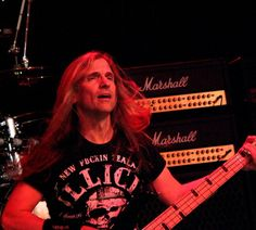 Megadeth Bassist James LoMenzo