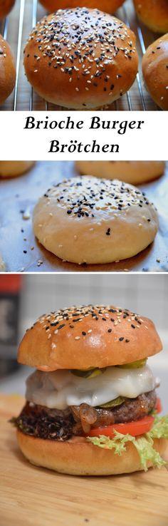Brioche Burger Buns oder Burger Brötchen einfach selber machen. So bringt ihr euren Burger auf das nächste Level!